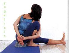 Маричиасана I  - Поза «руки за спиной»