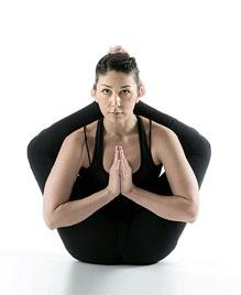 Дви Пада Ширшасана - Поза двух ног за головой