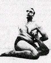 Йогадандасана - Поза Посоха Йога