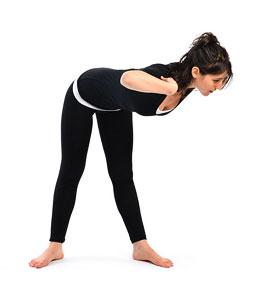 Меру Приштхасана II - Поза для спины и позвоночника