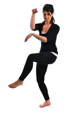 Тандавасана - Поза Танцующего Шивы