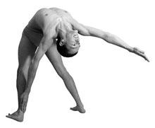 Эка Хаста Раджа Приштхасана – Поза для спины с вытяннутой рукой
