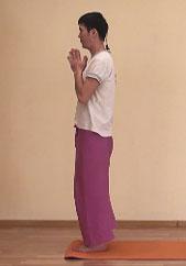 Пранамасана - Поза Молящегося
