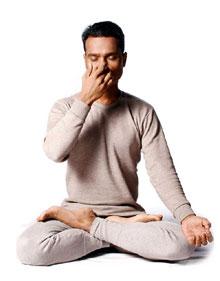 Акапалабхати - Дыхание серебряной головы