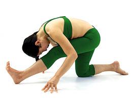 Ардха Паршваттанасана - Половинная поза интенсивной растяжки
