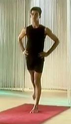 Падасанчалана - Движение ногами